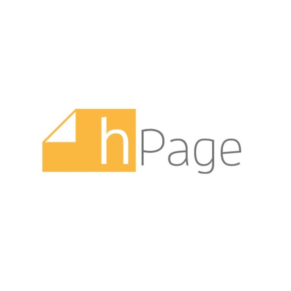 hPage Test Logo