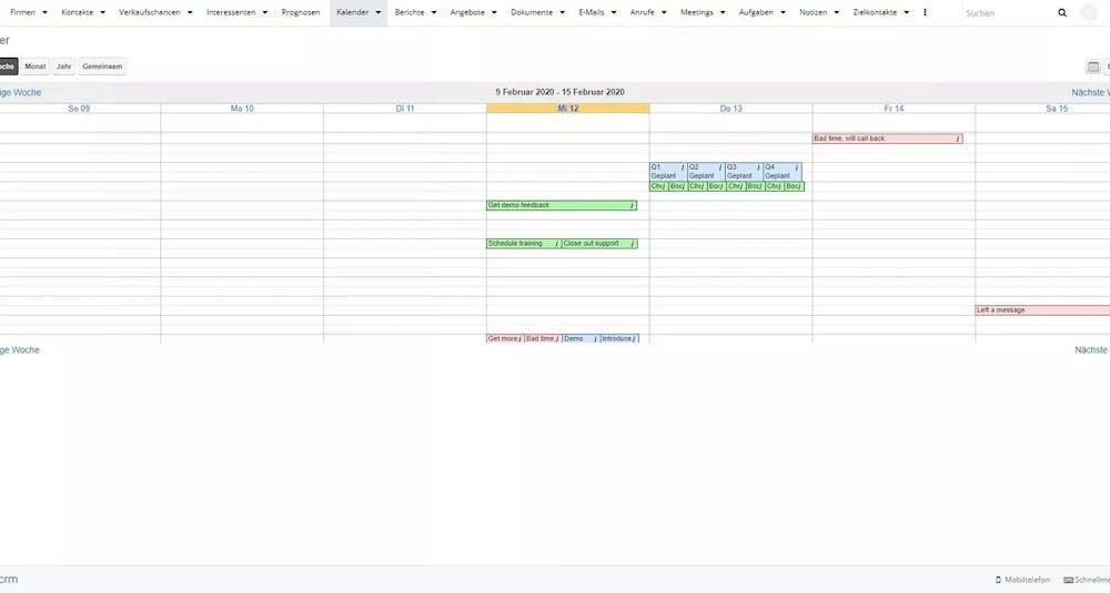 Sugarcrm Screenshot Sales Force Automation