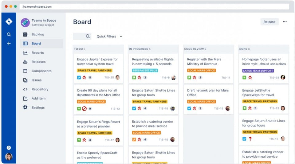 Jira Review Screenshot