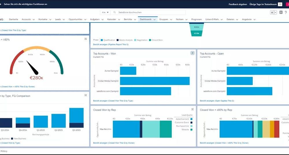 Salesforce Screenshot Sales Tools